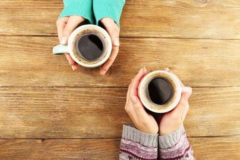 How coffee can make you go cold on a job candidate