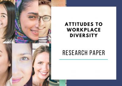 Predicting employee attitudes to workplace diversity