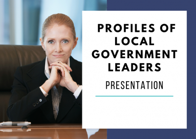 Psych Profiles of Local Government Leaders