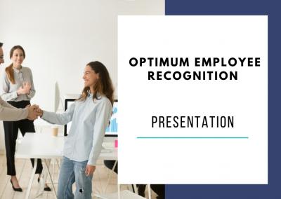 Optimum Employee Recognition