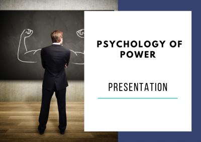 Psychology of Power Presentation