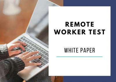 Remote Worker Test Literature Review