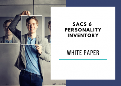 SACS 6 Personality Inventory