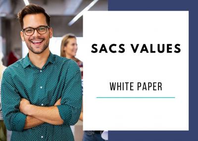 SACS Values Test