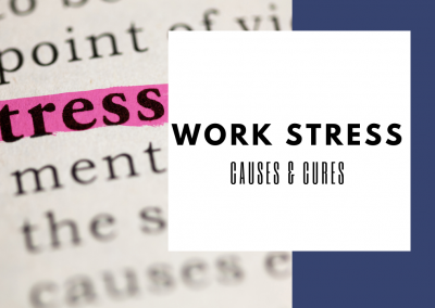 Causes And Cures Of Work Stress And Engagement