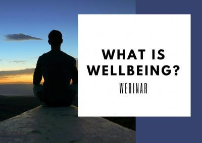 What is Wellbeing? Webinar