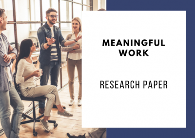 Meaningful Work, Job Resources, and Employee Engagement
